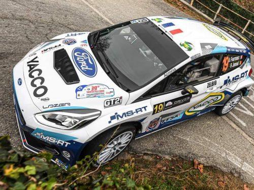 Vittoria a Como di Fourmaux: festeggiamenti insieme a M-Sport e G.B. Motors