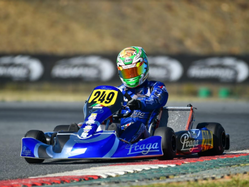 Un siciliano al mondiale karting in Portogallo